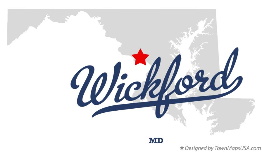 Map of Wickford Maryland MD
