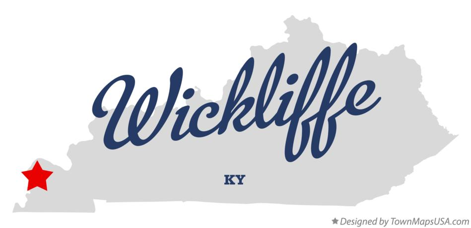 Map of Wickliffe Kentucky KY
