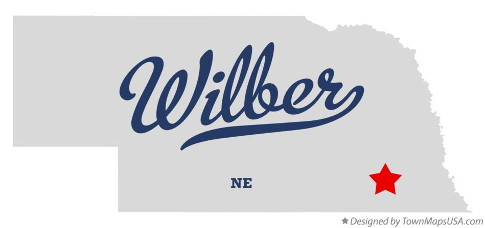 Map of Wilber Nebraska NE