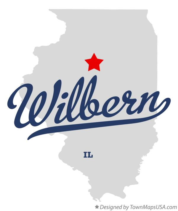 Map of Wilbern Illinois IL