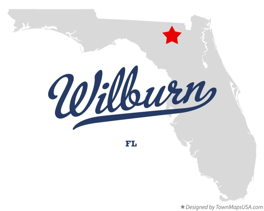 Map of Wilburn Florida FL