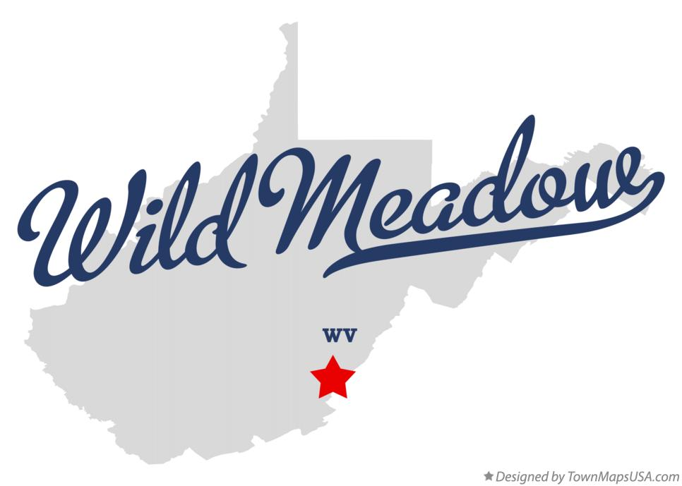Map of Wild Meadow West Virginia WV