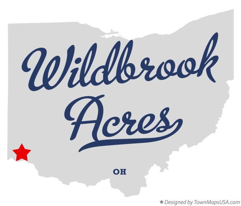 Map of Wildbrook Acres Ohio OH