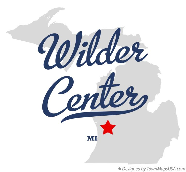 Map of Wilder Center Michigan MI
