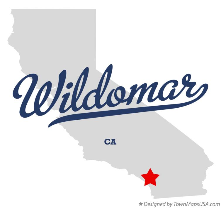Map of Wildomar California CA