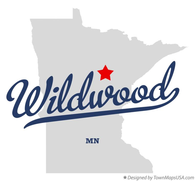 Map of Wildwood Minnesota MN