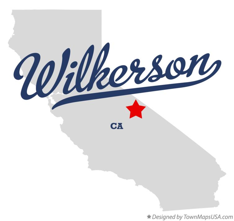 Map of Wilkerson California CA