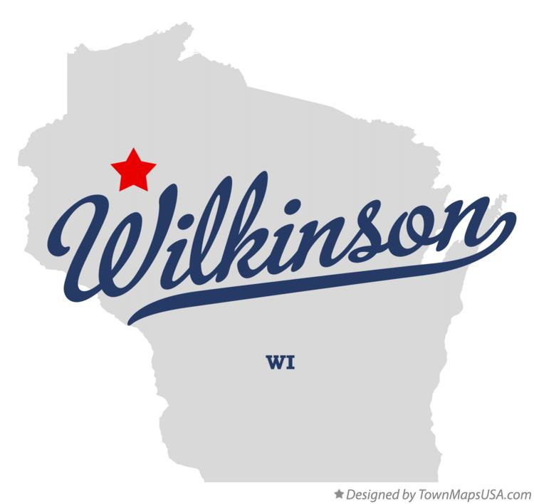 Map of Wilkinson Wisconsin WI