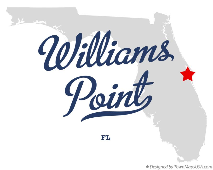 Map of Williams Point Florida FL