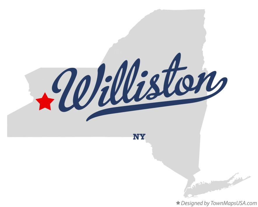 Map of Williston New York NY