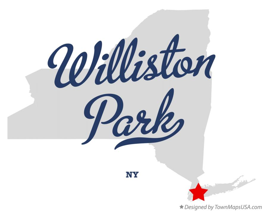Map of Williston Park New York NY