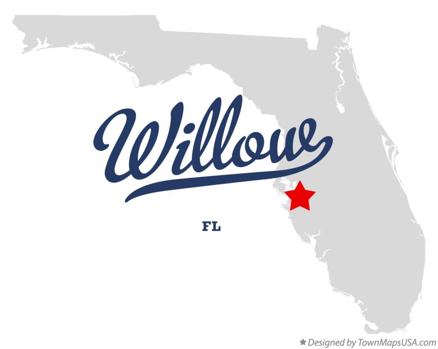 Map of Willow Florida FL