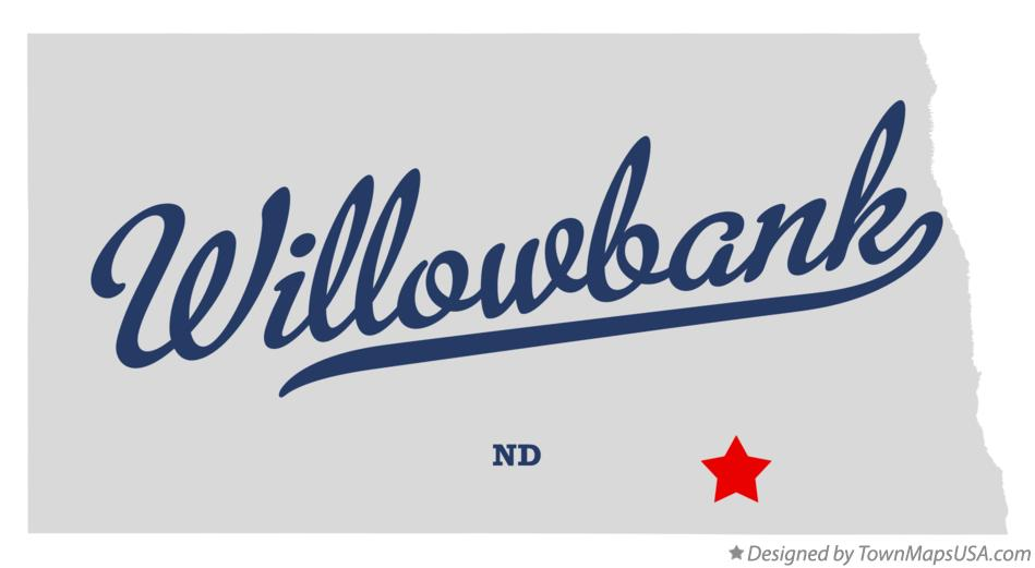 Map of Willowbank North Dakota ND
