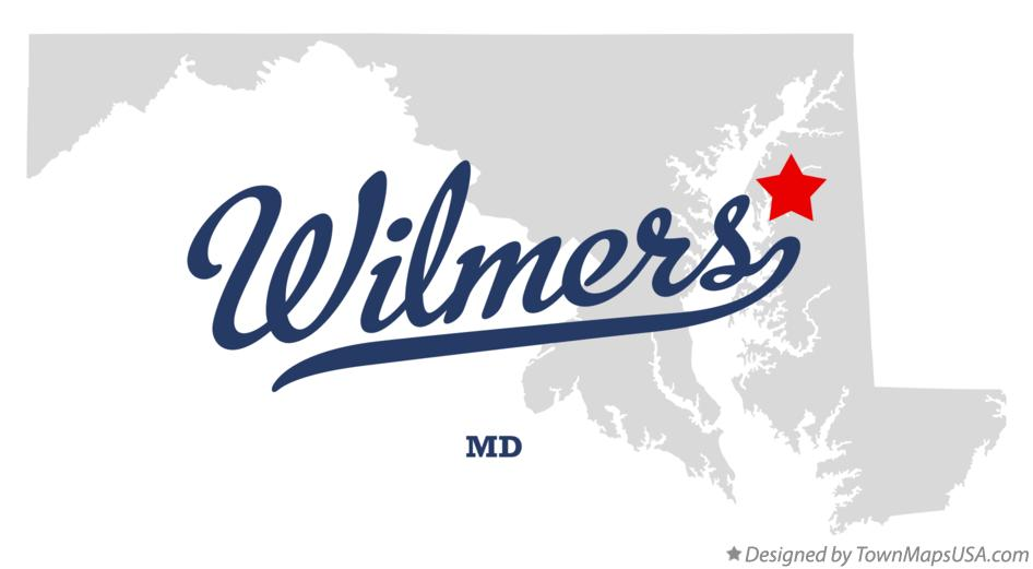 Map of Wilmers Maryland MD