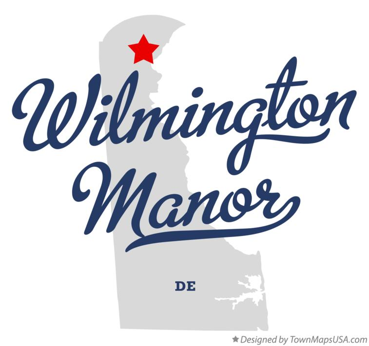 Map of Wilmington Manor DE Delaware