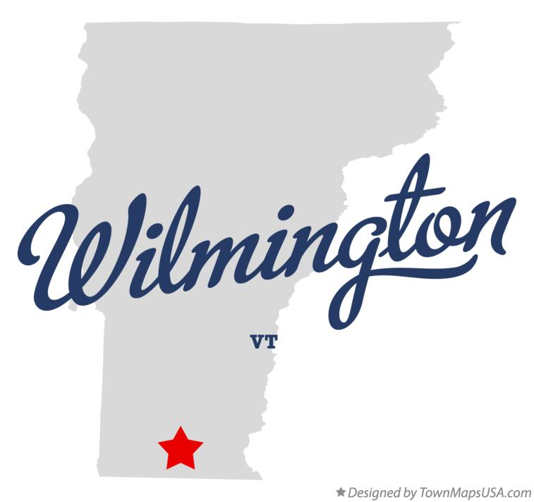 Map of Wilmington Vermont VT