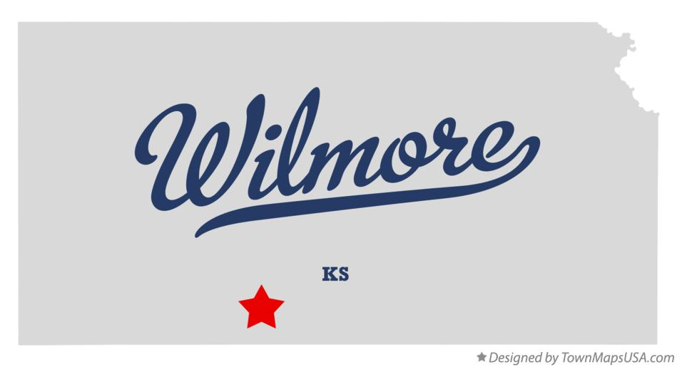 Map of Wilmore Kansas KS