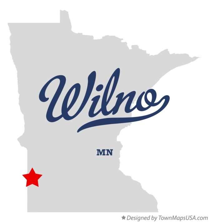 Map of Wilno Minnesota MN