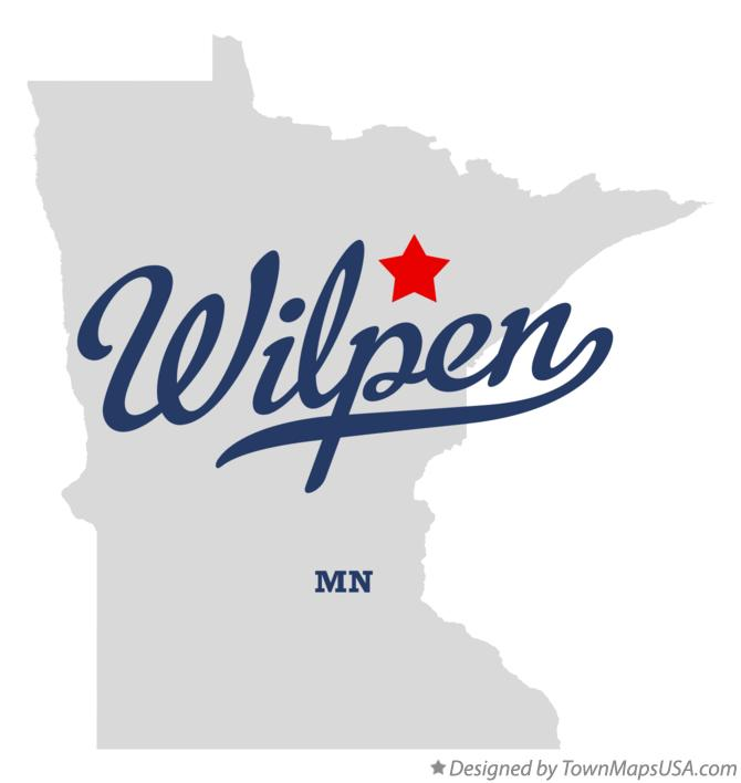 Map of Wilpen Minnesota MN