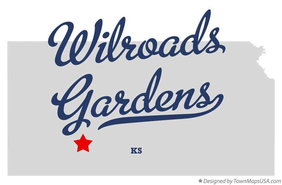 Map of Wilroads Gardens Kansas KS