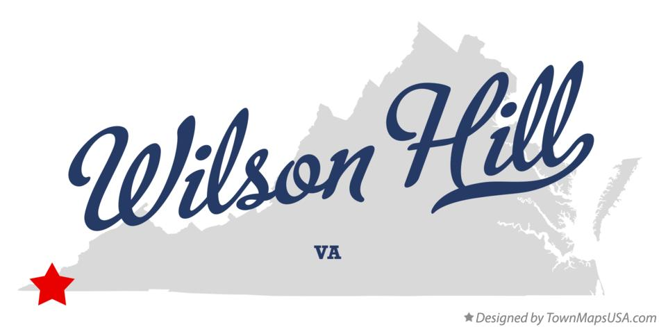Map of Wilson Hill Virginia VA