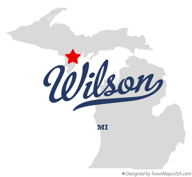 Map of Wilson Michigan MI