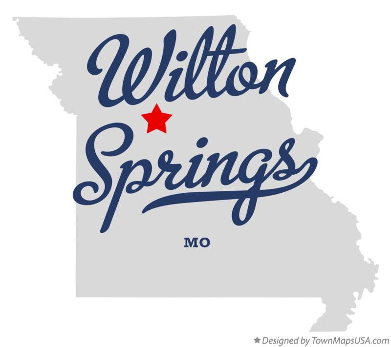 Map of Wilton Springs Missouri MO