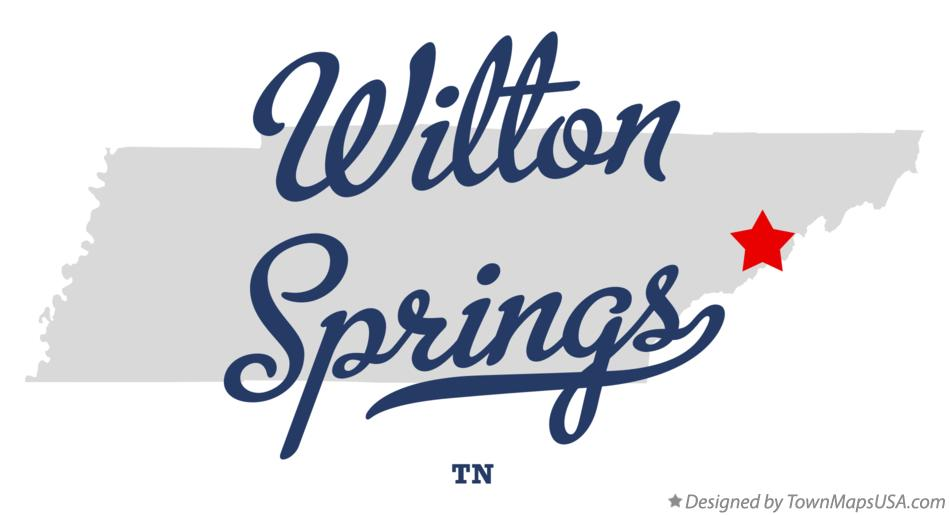 Map of Wilton Springs Tennessee TN