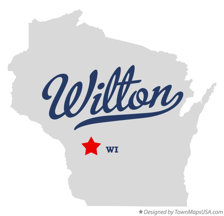 Map of Wilton Wisconsin WI