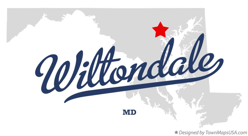 Map of Wiltondale Maryland MD