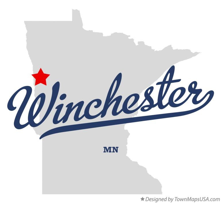 Map of Winchester Minnesota MN