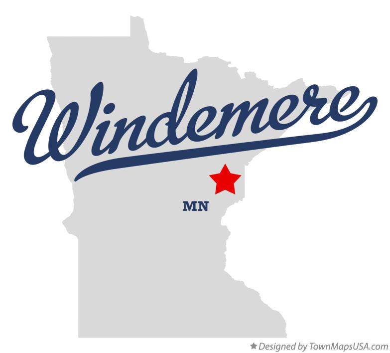 Map of Windemere Minnesota MN