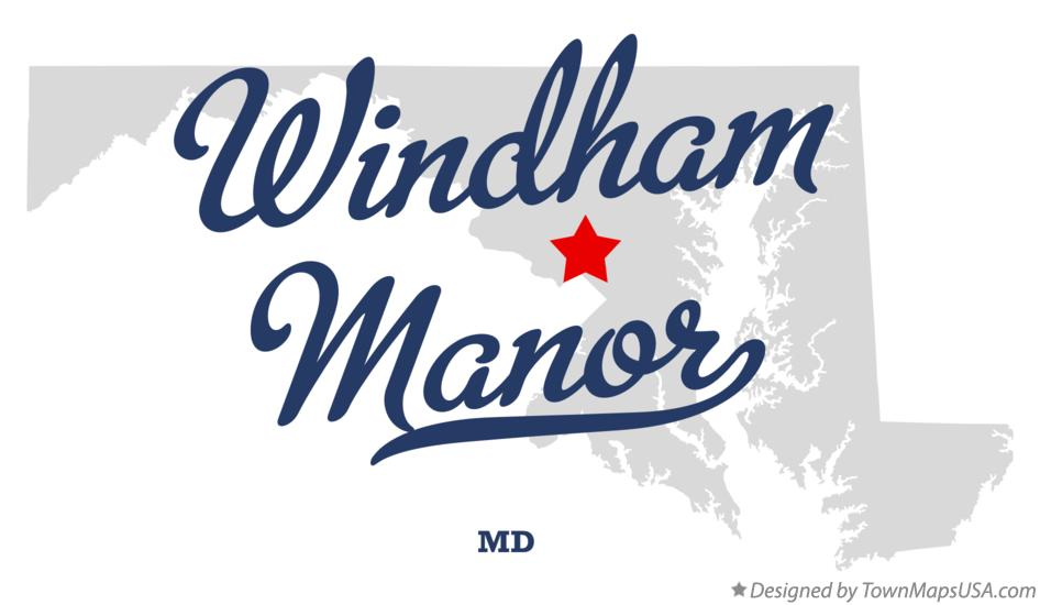 Map of Windham Manor Maryland MD