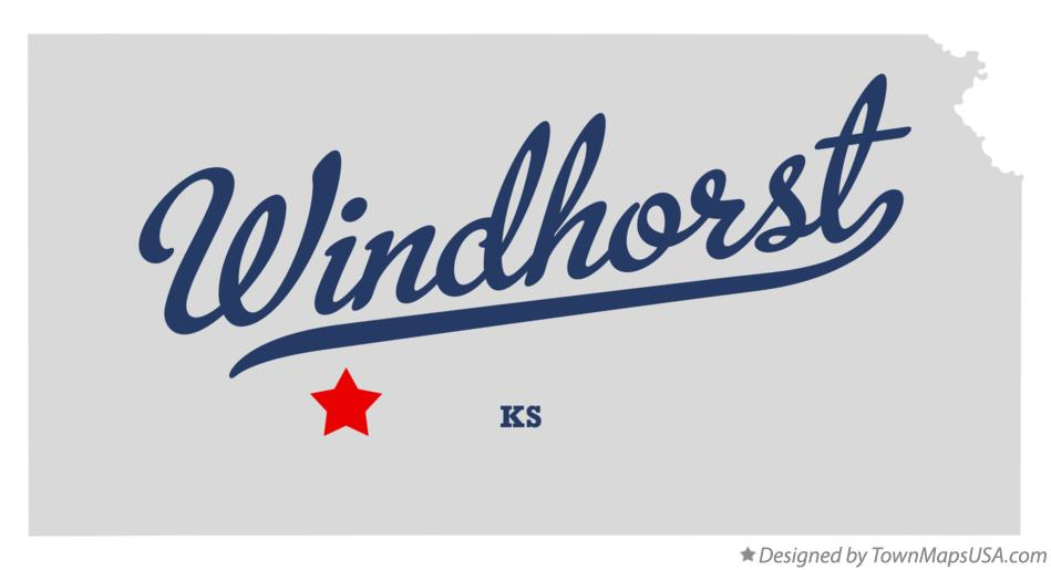 Map of Windhorst Kansas KS