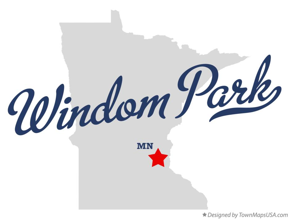 Map of Windom Park Minnesota MN