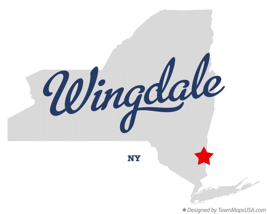 Map of Wingdale New York NY