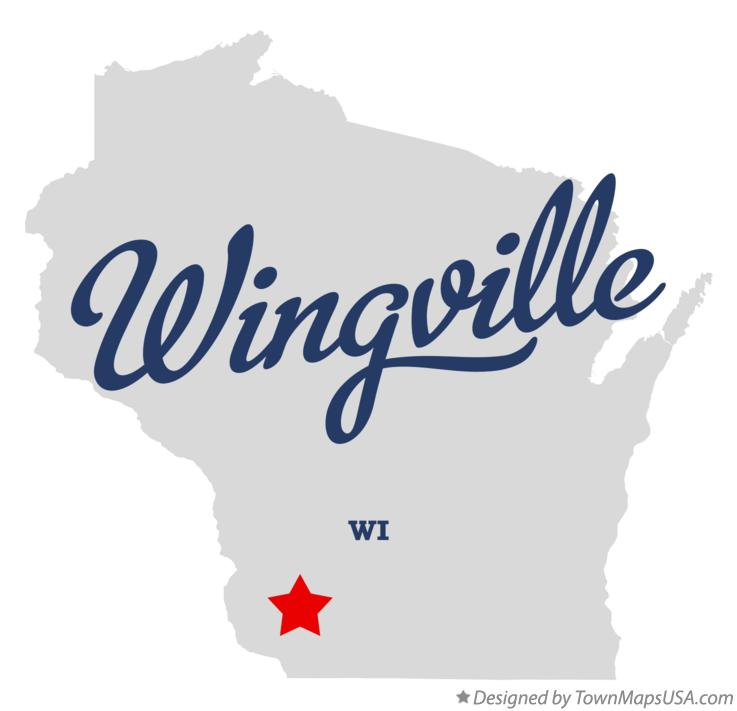 Map of Wingville Wisconsin WI