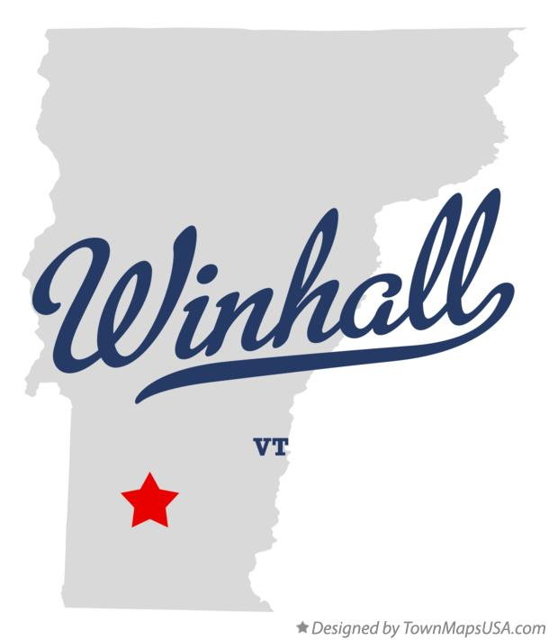 Map of Winhall Vermont VT