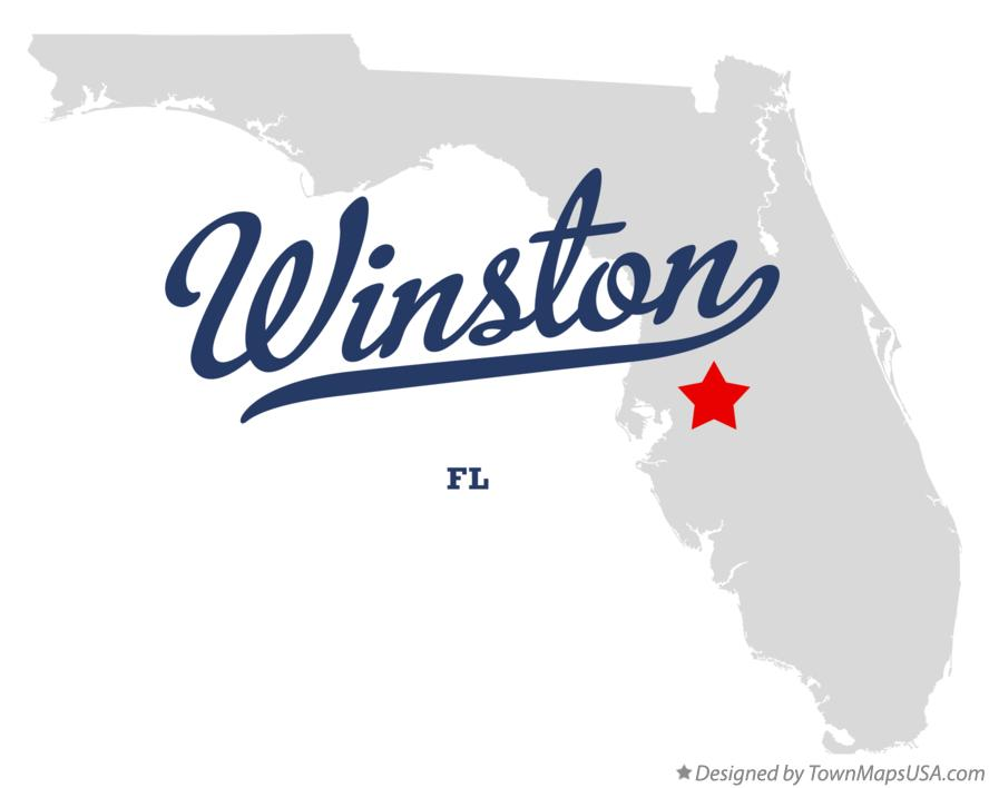 Map of Winston Florida FL