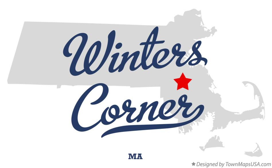 Map of Winters Corner Massachusetts MA