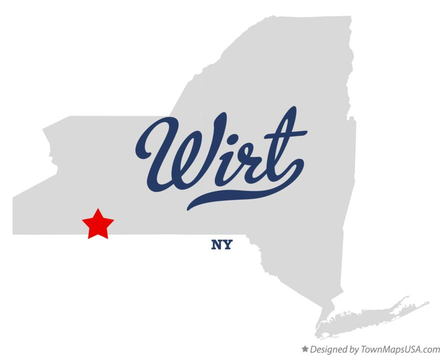 Map of Wirt New York NY