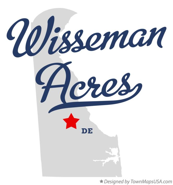 Map of Wisseman Acres Delaware DE