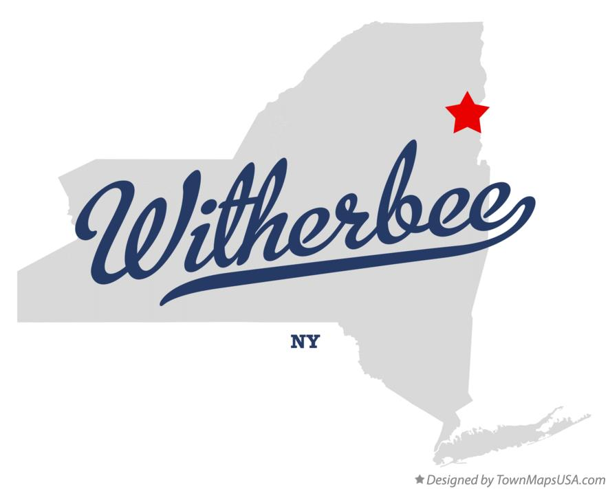 Map of Witherbee New York NY