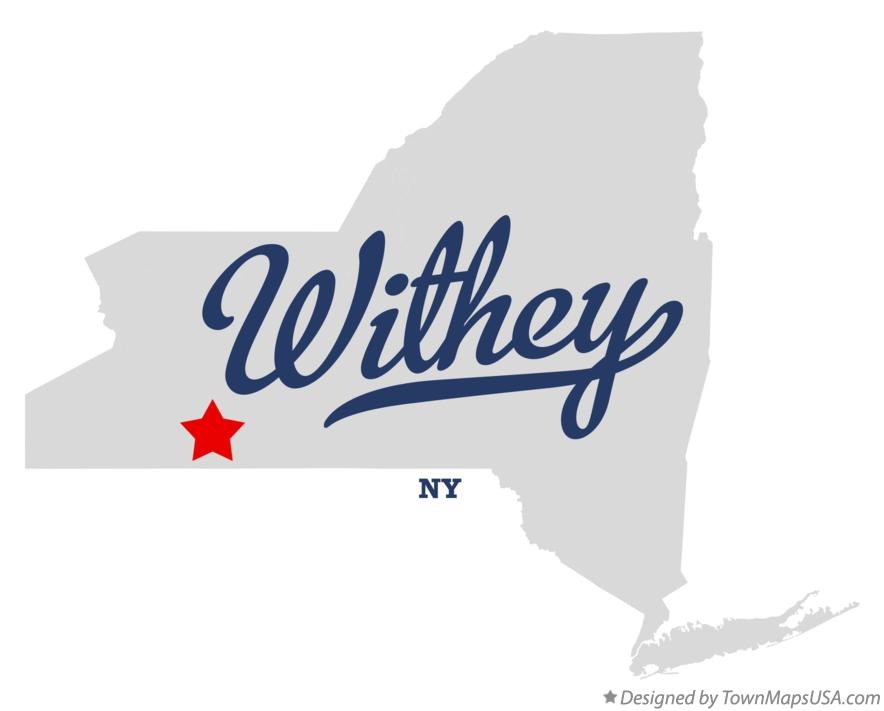 Map of Withey New York NY