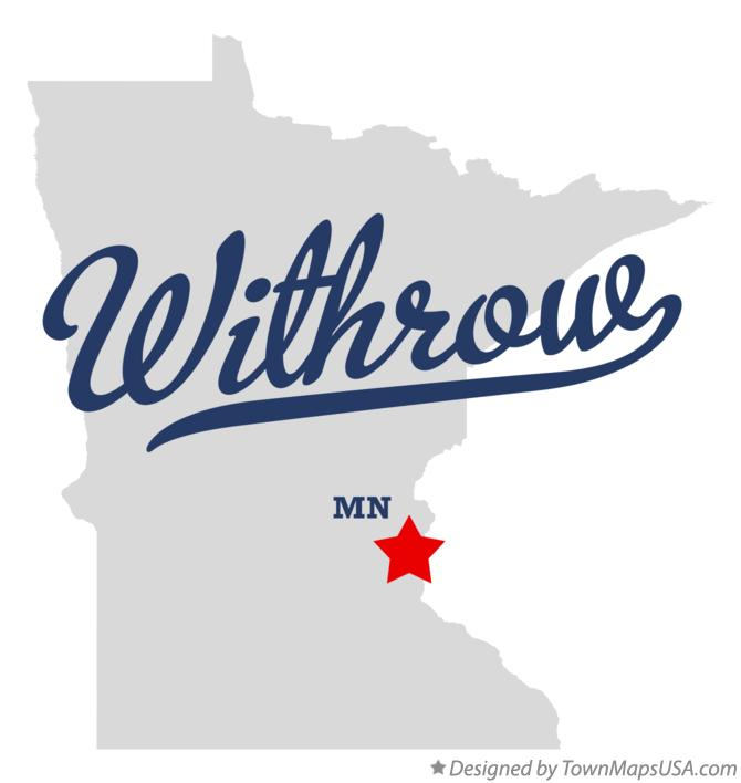Map of Withrow Minnesota MN