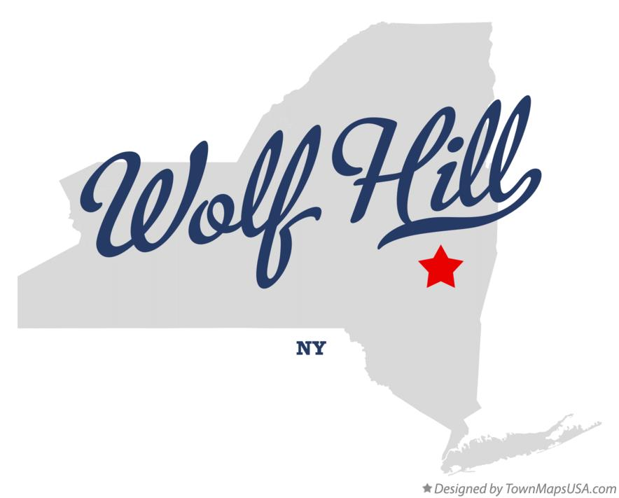 Map of Wolf Hill New York NY