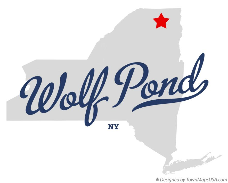 Map of Wolf Pond New York NY