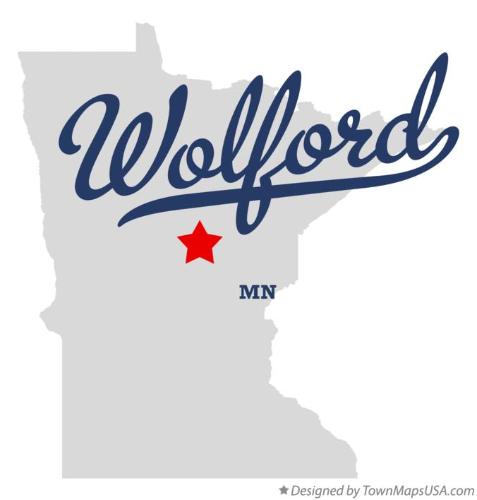 Map of Wolford Minnesota MN