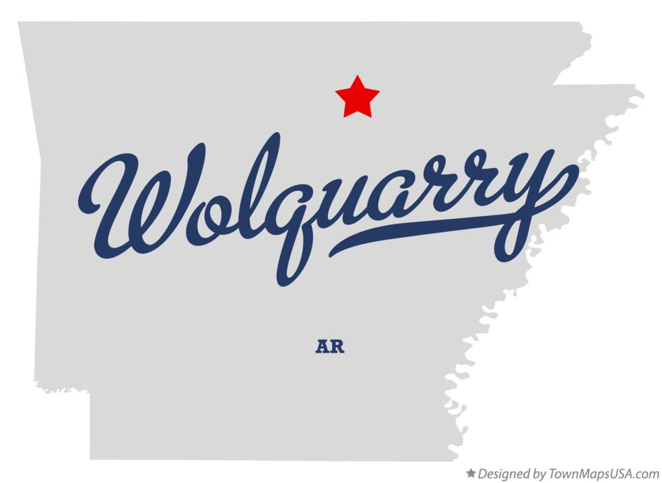 Map of Wolquarry Arkansas AR