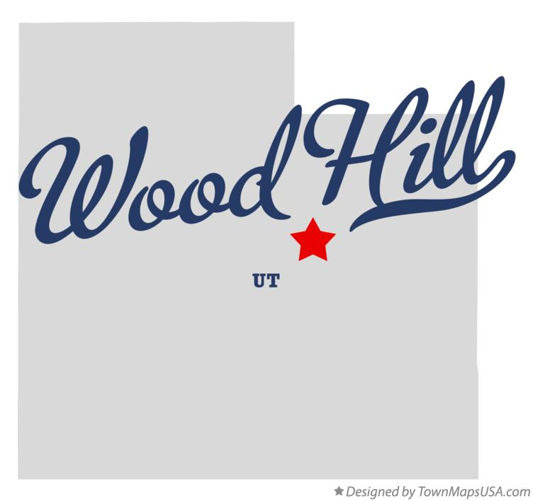Map of Wood Hill Utah UT